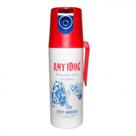 Bombe lacrymogène 50ml POIVRE - ANTI DOG
