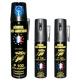 Bombe lacrymogène 75ml + 2 bombes lacrymogènes 25ml PUNCH au choix