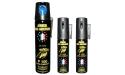 Bombe lacrymogène 75ml + 2 x 25ml PUNCH : GAZ ou GEL