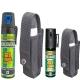 Bombe lacrymogène 75ml et 25ml ULTRAPUR + étuis adaptés