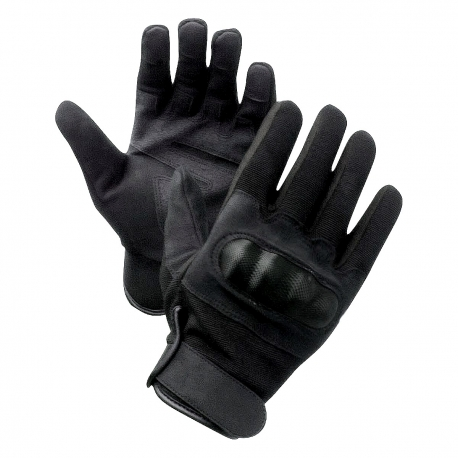 Gants à coqués Noir moto ou securité en L