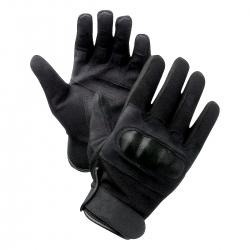 Gants à coqués Noir moto ou securité en XXL