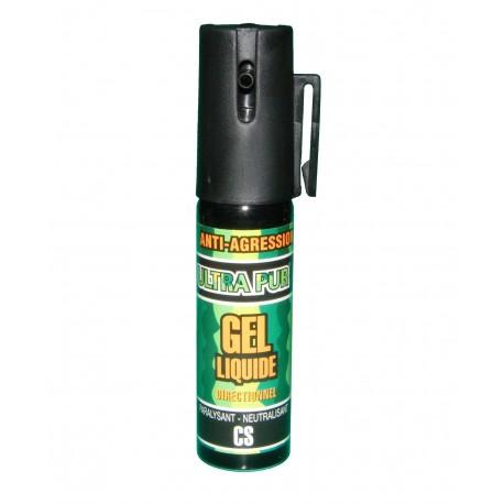 Bombe lacrymogène 25ml GEL liquide ULTRAPUR