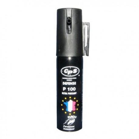 Bombe lacrymogène 25ml POIVRE - PUNCH