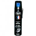 Bombe lacrymogène POIVRE 75ml - PUNCH P100 - Fabriqué en France