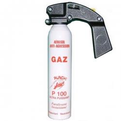 Extincteur lacrymogène 300ml GAZ - PUNCH