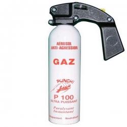 Magnum lacrymogène 500ml GAZ - PUNCH